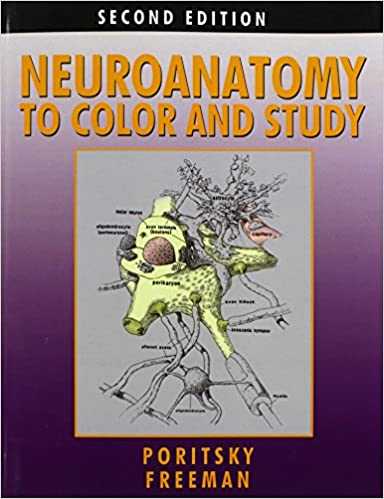 neuroanatomy to color and study - Neuroanatomy Coloring Book