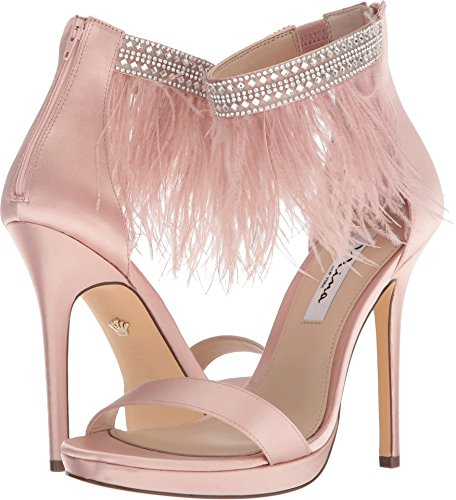 Embellished Feather - Nina Women's Fran Blush 8.5 M US