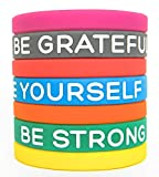 """Inspirational Silicone Wristbands by Solza 