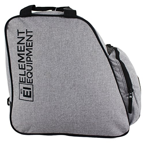 Element Equipment Boot Bag Snowboard Ski Boot Bag Pack Heather Grey/Black New for 2018