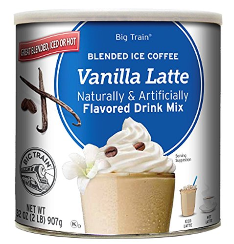 Amazon.com : Big Train Blended Ice Coffee, Dulce de Leche, 2.8-Ounce Bags (Pack of 25), Powdered Instant Coffee Drink Mix, Serve Hot or Cold, Makes Blended ...