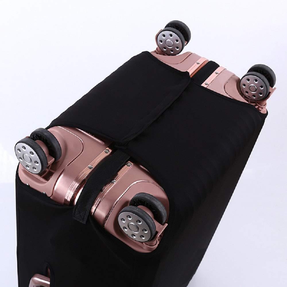 Housse de Protection pour Valise en Spandex /élastique Noir
