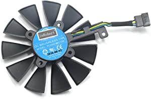 Graphics Card Fan Graphics Card Gpu/Vga Fan, 87MM PLD09210S12M PLD09210S12HH Cooling Fan Replace for Graphics Card Fan
