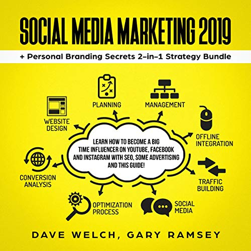 51O7Wj52RyL - Social Media Marketing 2019 + Personal Branding Secrets 2-in-1 Strategy Bundle: Learn How to Become a Big Time Influencer on YouTube, Facebook and Instagram with SEO, Some Advertising and This Guide! (Bundle 1)