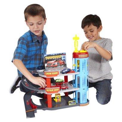 Amazon.com: Let s Play City Speedway Playset Target ...