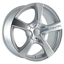 Touren TR9 17 Hypersilver Wheel / Rim 5x110 & 5x115 with a 42mm Offset and a 72.62 Hub Bore. Partnumber 3190-7711S by Touren