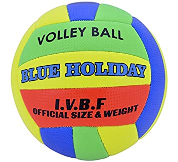 Creaciones Llopis Balón de Vóley Blue Holiday: Amazon.es: Juguetes ...