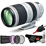 Canon EF 100-400mm f/4.5-5.6L IS II USM Lens Accessory Bundle International Model