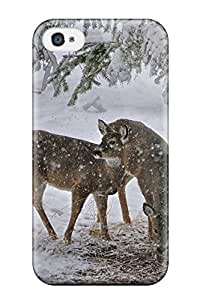 Jesus Hutson castillo's Shop 2287095K32543333 Sanp On Case Cover Protector For Iphone 4/4s (deer)