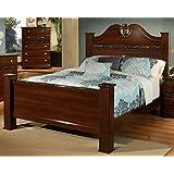 king bedroom furniture. Sandberg Furniture Camden Estate Headboard and Footboard with Rails  Eastern King Brown Amazon com Bedroom Sets Home Kitchen
