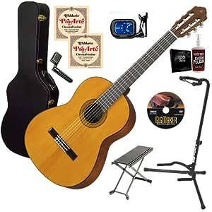 Amazon Com Yamaha Cg102 Guitar Complete Bundle W Hard Case Stand Amp Strap Musical Instruments