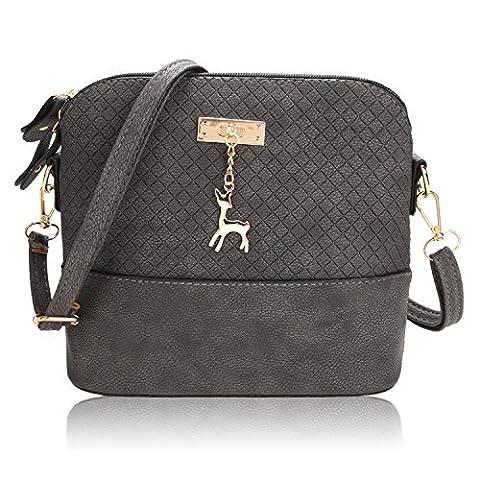 Fanala New Fashion Women Hobo Leather Shoulder Bag Messenger Purse Satchel Tote Handbag