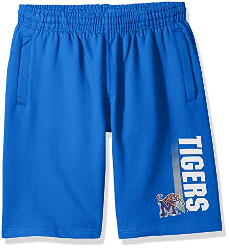 Memphis Tigers Tigers - NCAA Memphis Tigers CVC Fleece Shorts, Royal Blue, X-Large