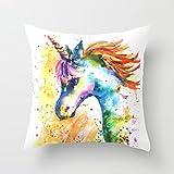 Unicorn pillow unicorn cushion unicorn pillow case unicorn bedding unicorn bedroom pillow shop unicorn nursery pillow shop Unicorn Decor