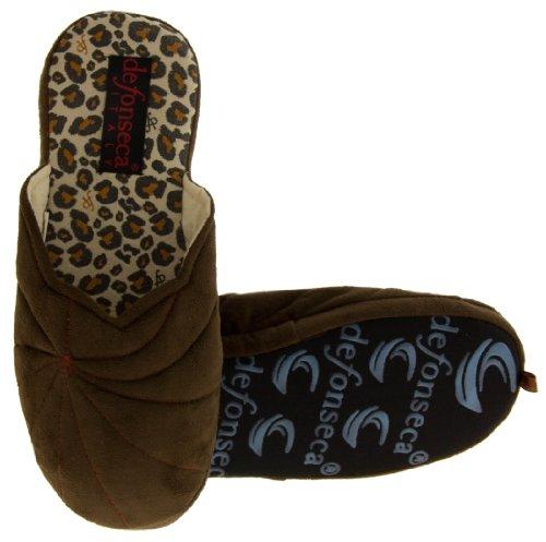 femme pour Brun Chaussons Footwear Studio Cq6Rx7t