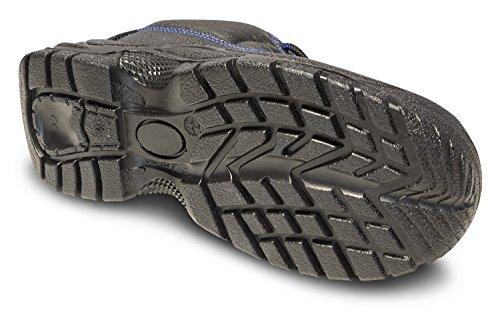KERMEN - Calzado de seguridad S3 SRC Bota baja ligera Zapatos de trabajo Antideslizante Botines de protección también como zapato Luca-negro