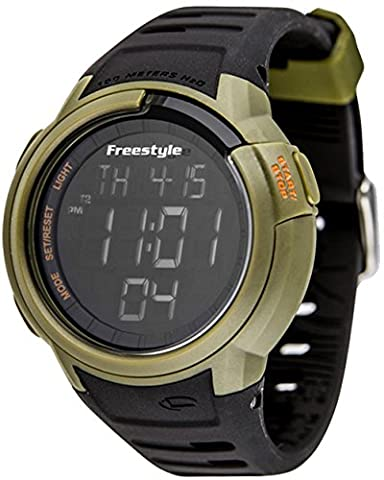 Freestyle Unisex 10019178 Mariner Digital Green Watch with Black Band (Freestyle Shark Green Watch)
