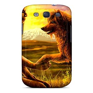 Galaxy S3 Case Bumper Tpu Skin Cover For Native With Wolf Accessories