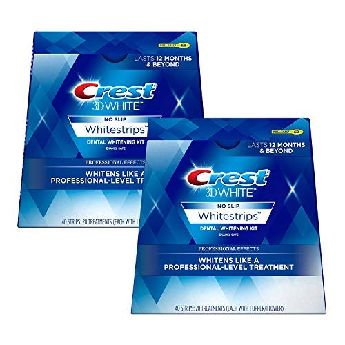 3D White Professional Effects Whitestrips Teeth Whitening Strips Kit