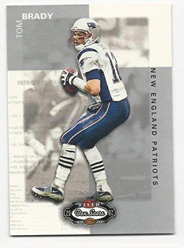 2002 Fleer Box Score Tom Brady #22 NM