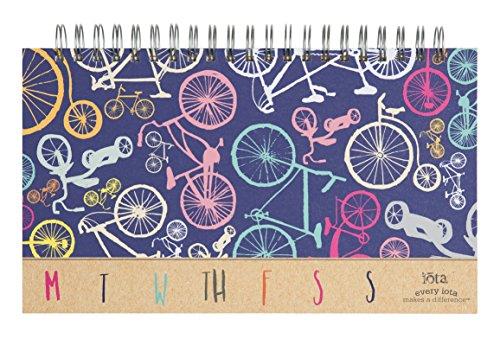 C.R. Gibson Perpetual Weekly Calendar by Iota, 11.625