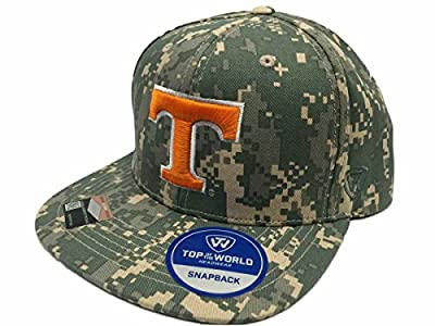 Top of the World Tennessee Volunteers TOW Digital Camo Patriot Snap Adjustable Snapback Hat Cap by Top of the World