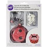 Wilton 415-0685 Ladybug Cupcake Decorating Kit