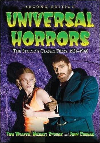 Book Universal Horrors: The Studio's Classic Films, 1931-1946