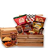The Bacon Lovers Gift Crate - Makes a Perfect Holiday, Fathers Day or Birthday Gift Idea for Men