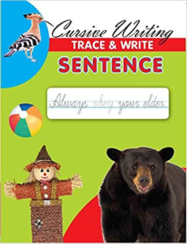 Buy Cursive Writing Sentence Book Online at Low Prices in India