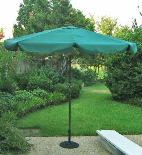 International Caravan 60403/FG-IC Furniture Piece Outdoor 8 Foot Aluminum Umbrella