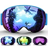 Best Goggles For Toddlers - Kids Ski Goggles,Findway Snowboard Snow Goggles - Magnetic Review