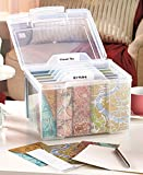 Greeting Card Organizer with Dividers