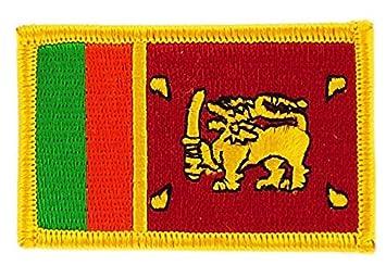 Wappen Aufn/äher Patch Sri Lanka Flagge Fahne NEU