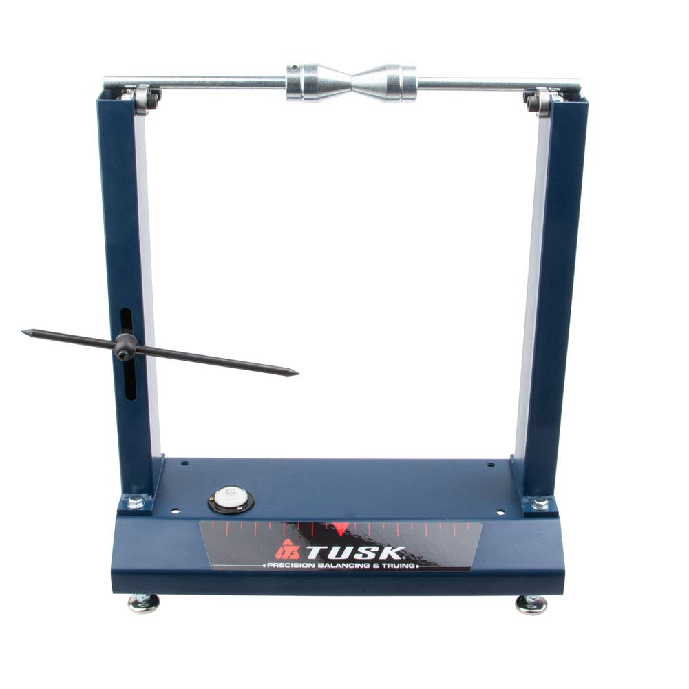 Tusk Motorcycle Wheel Balancing and Truing Stand by Tusk