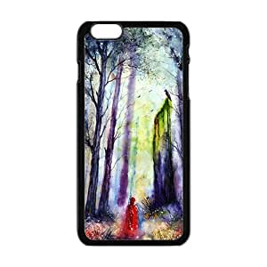 """Abstract forest scenery Phone Case for iPhone 6 Plus 5.5"""""""