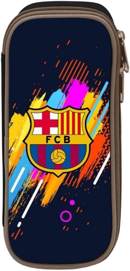 FC Barcelona - Estuche escolar para estudiantes y niños, negro, ONE_SIZE: Amazon.es: Amazon.es