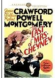Last of Mrs. Cheyney, The (1937)