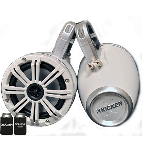 - Kicker White Wake Tower System 6.5