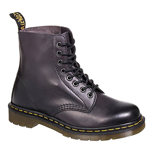 Dr. Martens Pascal 8 Eye Boot Combat, Charcoal