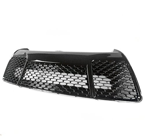 ZMAUTOPARTS 2015-2017 Toyota Camry XSE Style Front Bumper Lower Grille Black ()