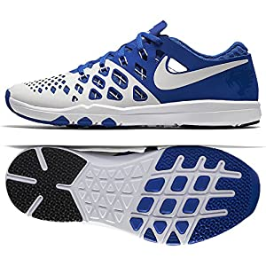 NIKE Men's Train Speed 4 Training Shoe (10 D(M) US, Game Royal/White/White/Black)