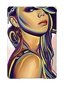 Illumineizl Premium Painting Of A Girl Heavy-duty Protection Design Case For Ipad Air