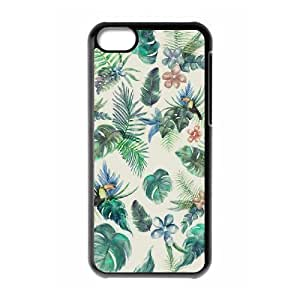 LJF phone case C-Y-F- Painted Flower 2 Phone Case For iphone 6 4.7 inch [Pattern-1]