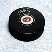 Brendan Gallagher Montreal Canadiens Autographed Hockey Puck