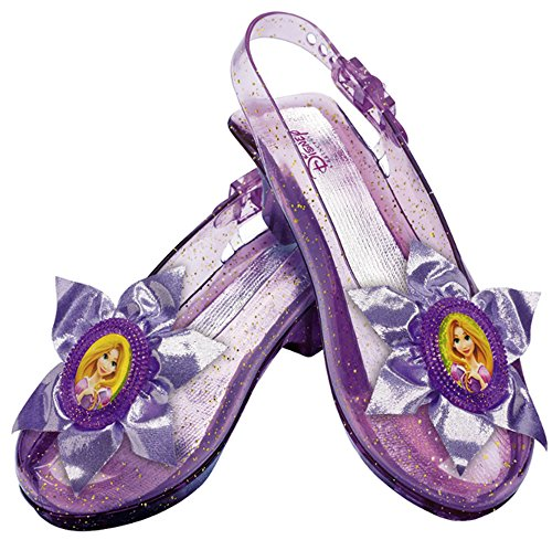 Disguise Disney Princess Tangled Rapunzel Sparkle Shoes (Tangled Rapunzel Dress)