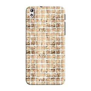 Cover It Up - Brown White Break Mosaic Desire 816 Hard Case