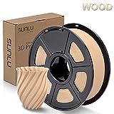 SUNLU Wood 3D Printer Filament 1.75mm PLA