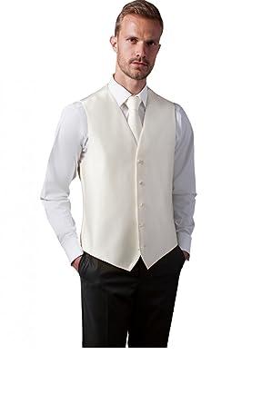 Veston Homme Costume Mariage uni ivoire 5 boutons sans poches - Ivoire - M   Amazon.fr  Vêtements et accessoires e628e44bcd9