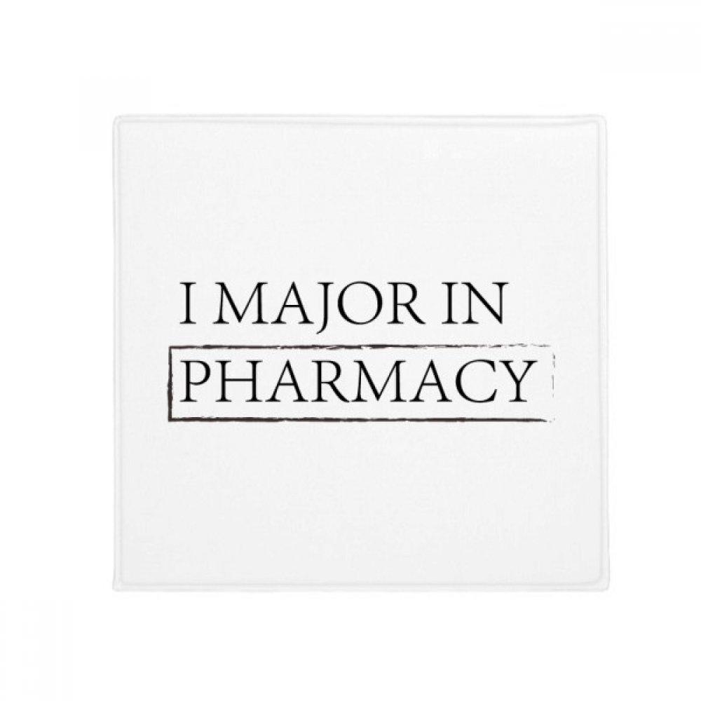 DIYthinker Quote I Major in Pharmacy Anti-Slip Floor Pet Mat Square Home Kitchen Door 80Cm Gift
